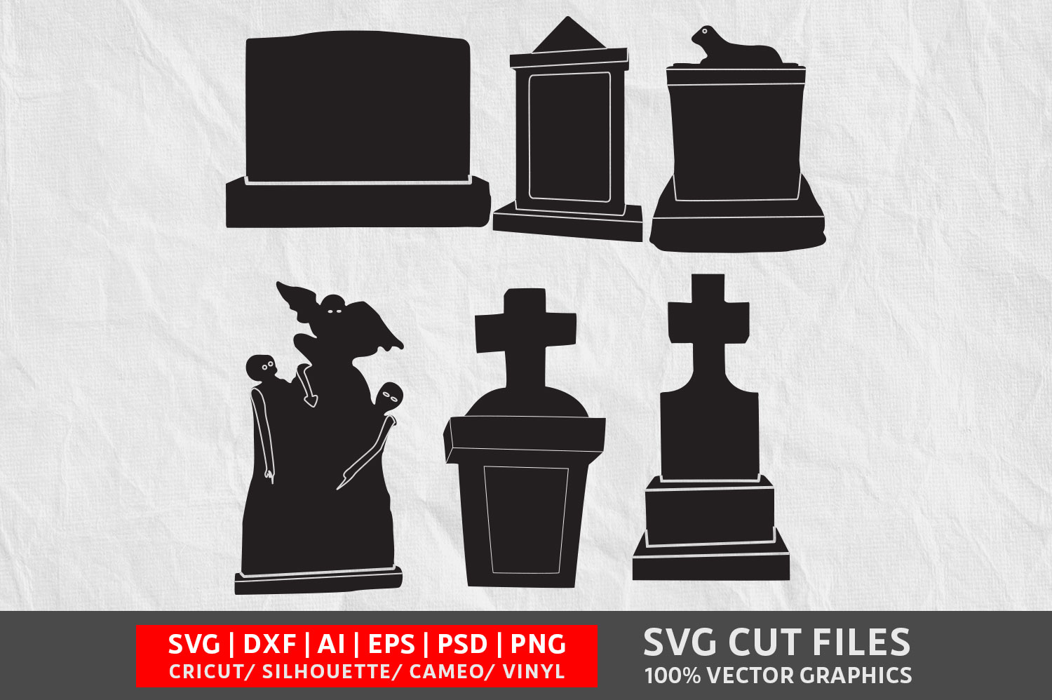 Download Free Tombstone Graphic By Design Palace Creative Fabrica for Cricut Explore, Silhouette and other cutting machines.