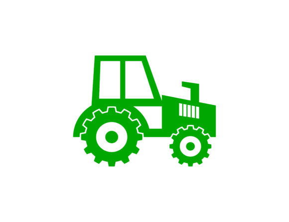 Download Free Tractor Logo Grafik Von Meisuseno Creative Fabrica for Cricut Explore, Silhouette and other cutting machines.