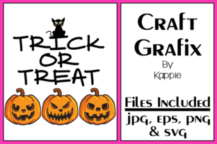 Trick or Treat Graphic By Grafix by Kappie