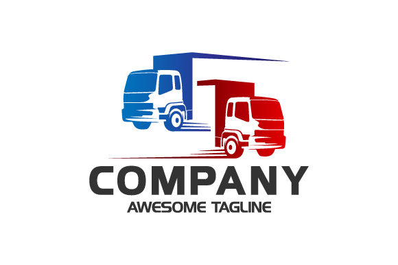 Download Free Truck Delivery Transportation Logo Graphic By Hartgraphic for Cricut Explore, Silhouette and other cutting machines.