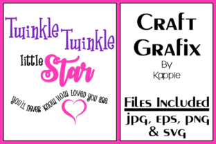Twinkle Twinkle Graphic By Grafix by Kappie