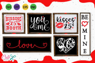 Valentine Wood Signs Svg Graphic By Cute Files Creative Fabrica
