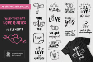Download Free Valentine S Day Love Quotes Svg Graphic By Duka Creative Fabrica for Cricut Explore, Silhouette and other cutting machines.