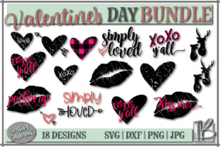 Download Free Valentine S Day Bundle Graphic By Tamarabotriedesigns Creative for Cricut Explore, Silhouette and other cutting machines.