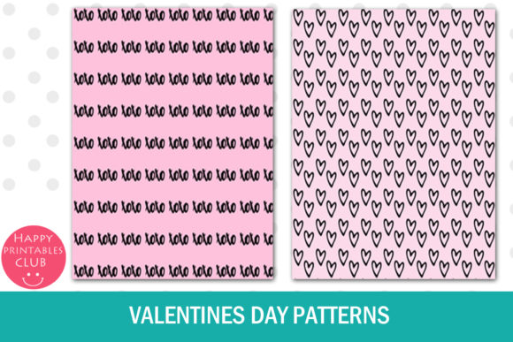 Print on Demand: Valentines Day Text Overlays Graphic Illustrations By Happy Printables Club - Image 7