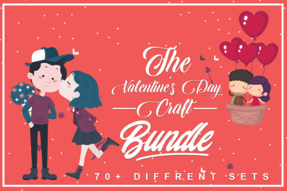 Print on Demand: Valentine's Bundle Graphic Illustrations By svgbundle.net