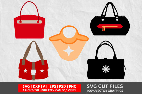 Download Free Vanity Bag Graphic By Design Palace Creative Fabrica for Cricut Explore, Silhouette and other cutting machines.