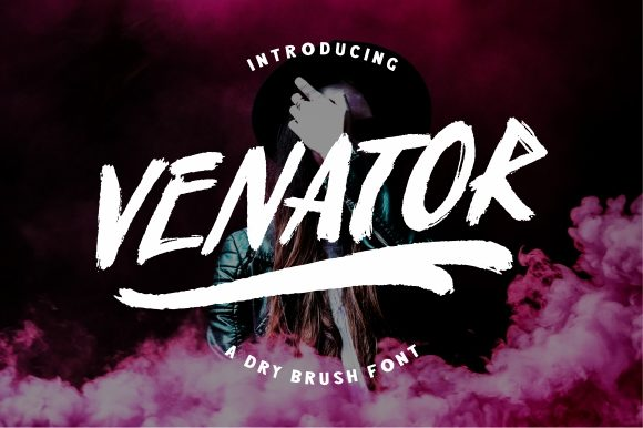 Print on Demand: Venator Script & Handwritten Font By Garisman Studio