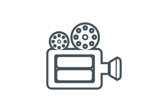 Download Free Video Maker Icon Graphic By Zafreeloicon Creative Fabrica for Cricut Explore, Silhouette and other cutting machines.