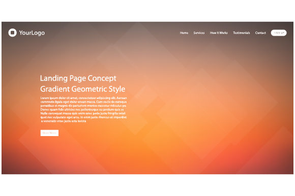 Web Page Design for Website Template Graphic Websites By MrBrahmana