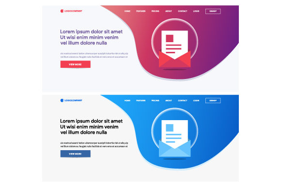 Website and Landing Page Design Graphic Websites By MrBrahmana