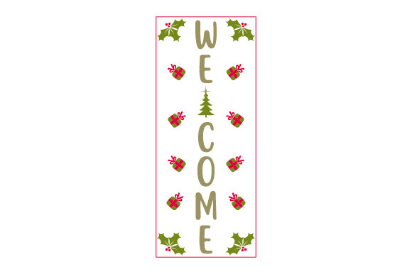 Welcome Porch Signs Craft Cut File By Creative Fabrica Crafts - Image 1