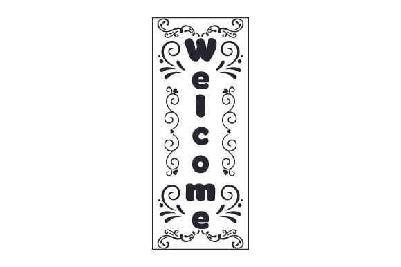 Welcome Porch Signs Craft Cut File By Creative Fabrica Crafts