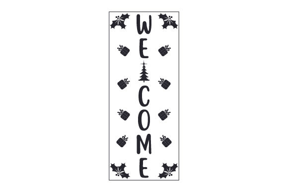 Welcome Porch Signs Craft Cut File By Creative Fabrica Crafts - Image 2