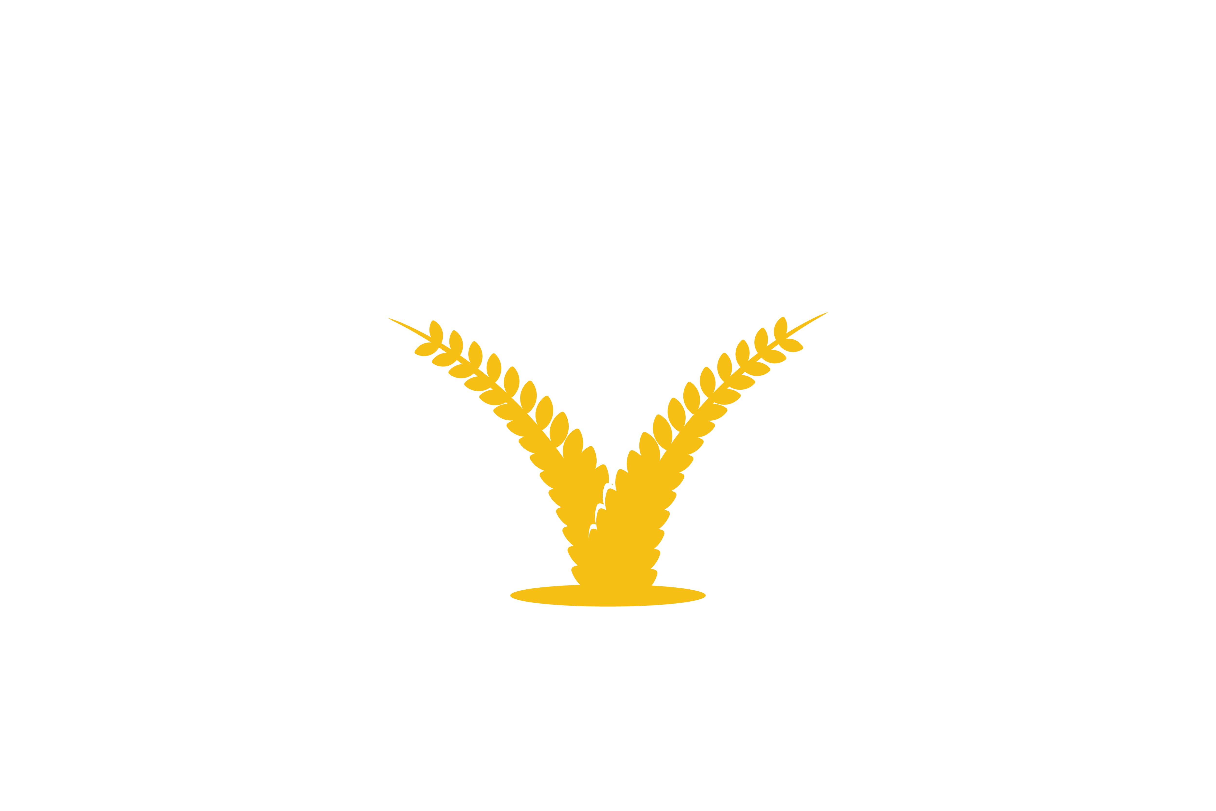 Download Free Wheat Grain Agriculture Logo Graphic By Yahyaanasatokillah for Cricut Explore, Silhouette and other cutting machines.