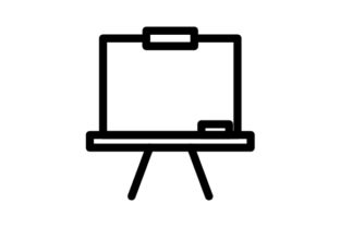 Download Free Whiteboard Icon Graphic By Rudezstudio Creative Fabrica for Cricut Explore, Silhouette and other cutting machines.