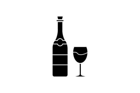 Print on Demand: Wine Graphic Icons By khld939 - Image 1