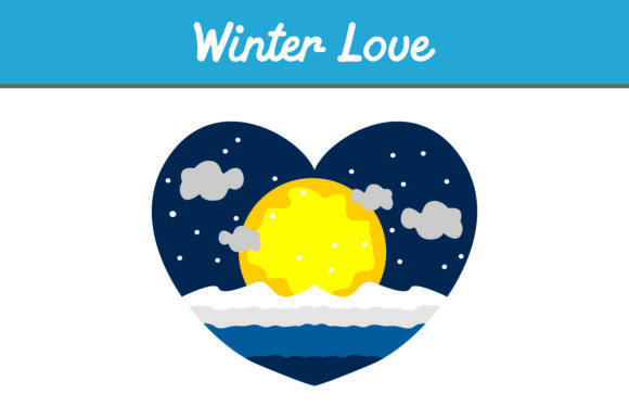 Print on Demand: Winter Love Graphic Icons By Arief Sapta Adjie - Image 1