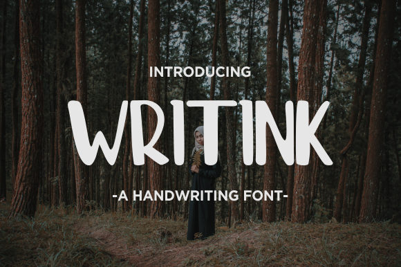 Print on Demand: Writink Script & Handwritten Font By memetxsaputra