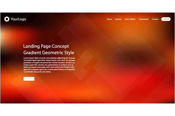 Wweb Page Design for Website Template Graphic Websites By MrBrahmana