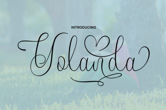 Print on Demand: Yolanda Script & Handwritten Font By art design