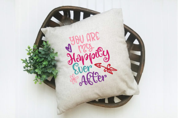 Download Free You Are My Happily Ever After Svg Cut File Graphic By for Cricut Explore, Silhouette and other cutting machines.