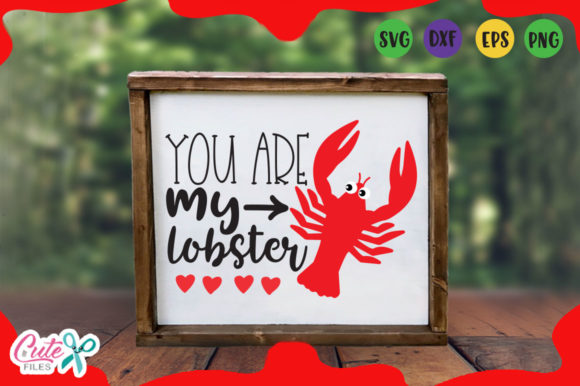Download Free You Are My Lobster Svg Grafico Por Cute Files Creative Fabrica for Cricut Explore, Silhouette and other cutting machines.