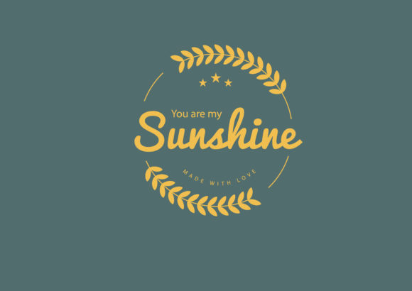 Download Free You Are My Sunshine Made With Love Graphic By Baraeiji for Cricut Explore, Silhouette and other cutting machines.
