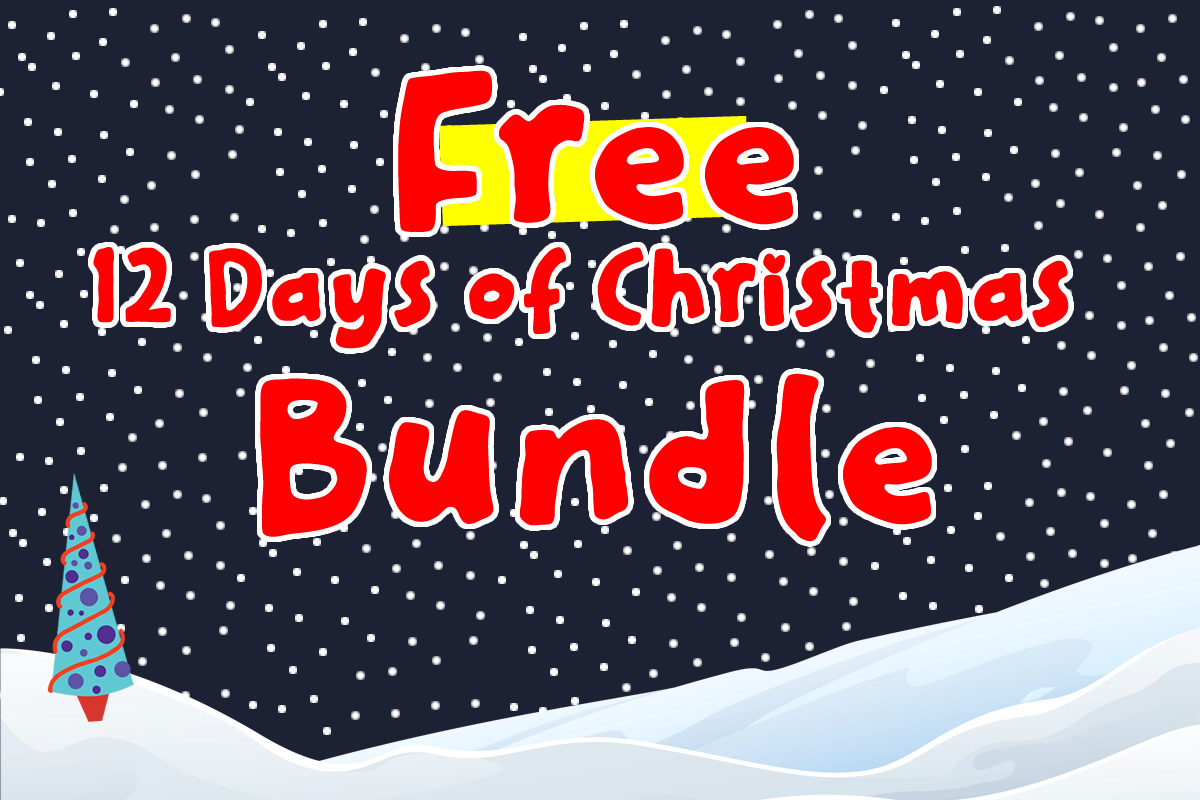 Download Free Free 12 Days Of Christmas Bundle Bundle Creative Fabrica for Cricut Explore, Silhouette and other cutting machines.