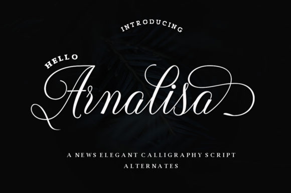 Print on Demand: Arnalisa Script & Handwritten Font By IM Studio