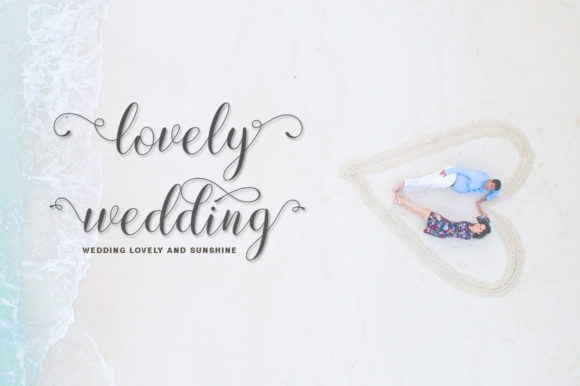 Print on Demand: Lovely Design Script & Handwritten Font By IM Studio - Image 7