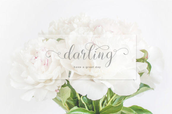 Print on Demand: Lovely Design Script & Handwritten Font By IM Studio - Image 2