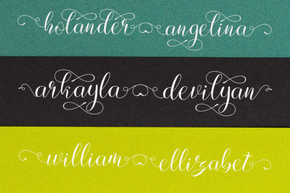 Print on Demand: Lovely Design Script & Handwritten Font By IM Studio - Image 9