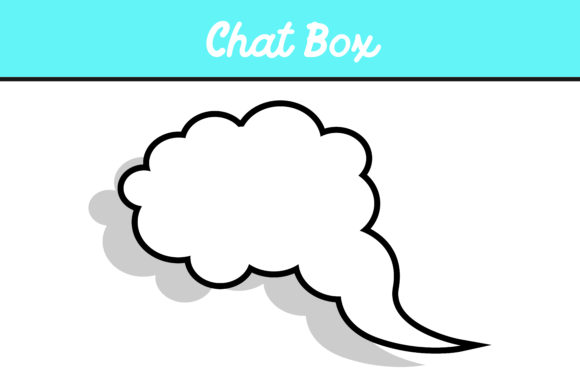 Print on Demand: 10 Cloud Chat Box Vector Bundle Graphic Icons By Arief Sapta Adjie - Image 2
