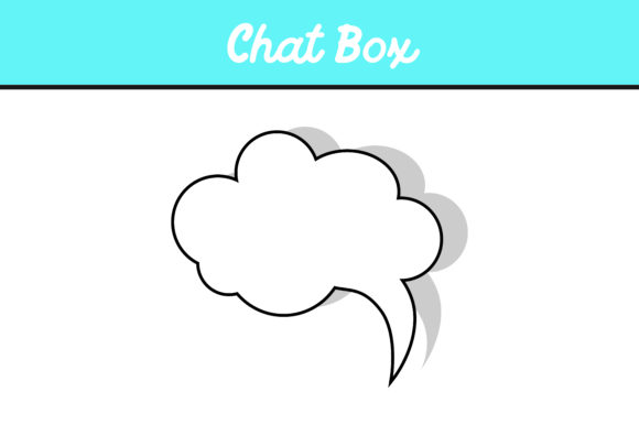Print on Demand: 10 Cloud Chat Box Vector Bundle Graphic Icons By Arief Sapta Adjie - Image 3