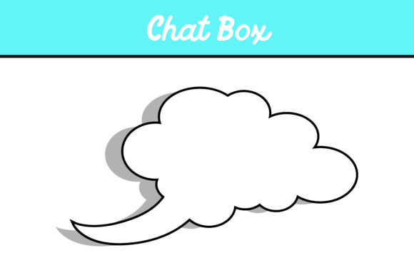 Print on Demand: 10 Cloud Chat Box Vector Bundle Graphic Icons By Arief Sapta Adjie - Image 6