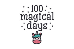 100 Magical Days Craft Design By Creative Fabrica Crafts