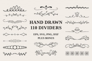 110 Hand Drawn Dividers Graphic By Kirill's Workshop