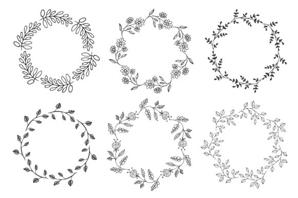 12 Wreaths   Graphic Illustrations By anatartan - Image 3
