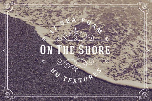 17 Sea Foam on the Shore HQ Textures Grafik Texturen von Textures
