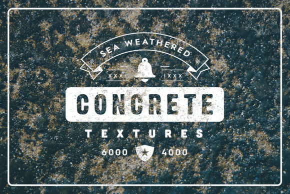 20 Weathered Sea Concrete Textures Graphic