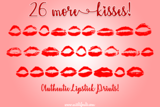 26 More Kisses Font By Misti