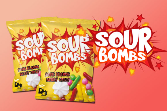 Print on Demand: Sugar Bomb Sans Serif Font By Sharon ( DMStd ) - Image 7