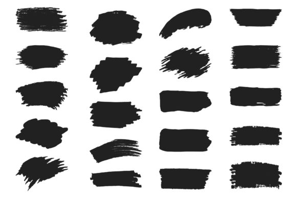 78 Hand Drawn Paint Brushes Graphic Illustrations By Kirill's Workshop - Image 2