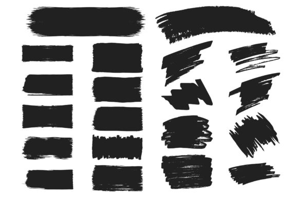 78 Hand Drawn Paint Brushes Graphic Illustrations By Kirill's Workshop - Image 3