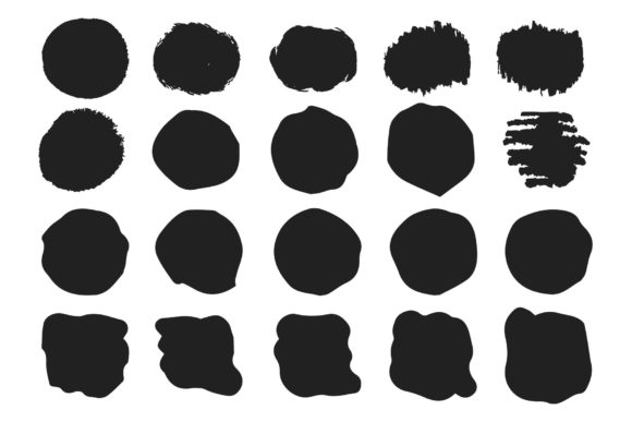 78 Hand Drawn Paint Brushes Graphic Illustrations By Kirill's Workshop - Image 5