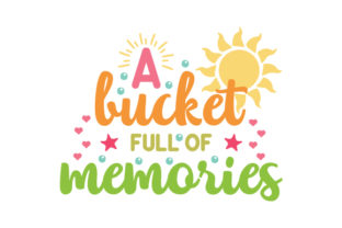 A Bucket Full of Memories Craft Design By Creative Fabrica Crafts