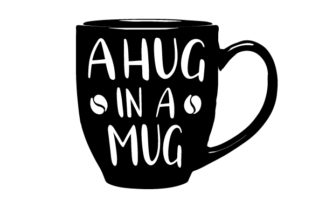 A Hug in a Mug Craft Design By Creative Fabrica Crafts