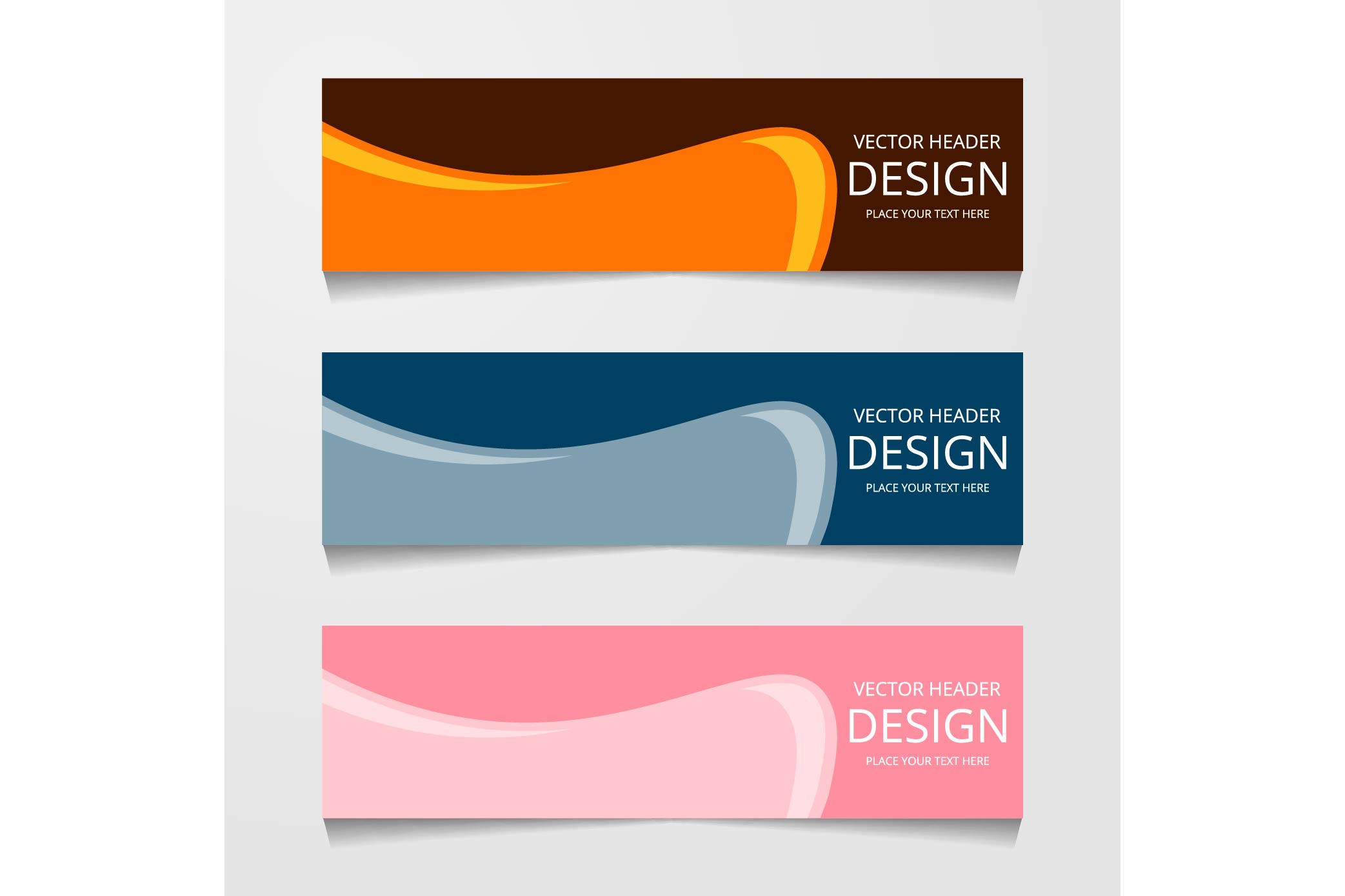 Download Free Abstract Web Banner Design Background Or Header Templates Graphic for Cricut Explore, Silhouette and other cutting machines.