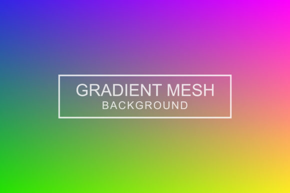 Print on Demand: Abstract Color Gradient Background Graphic Backgrounds By sabavector